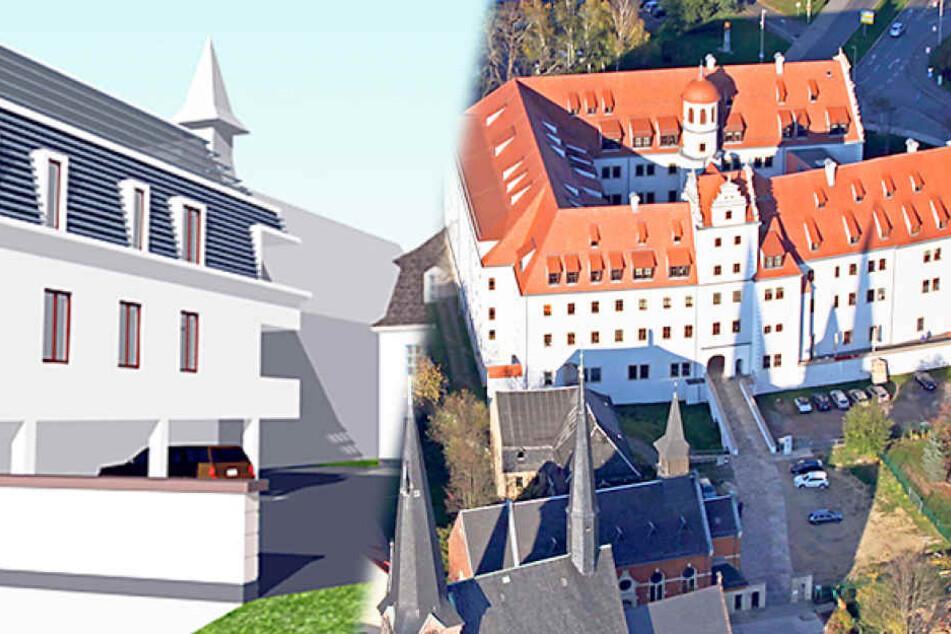 In diesem Zwickauer Schloss könnt Ihr bald wohnen!