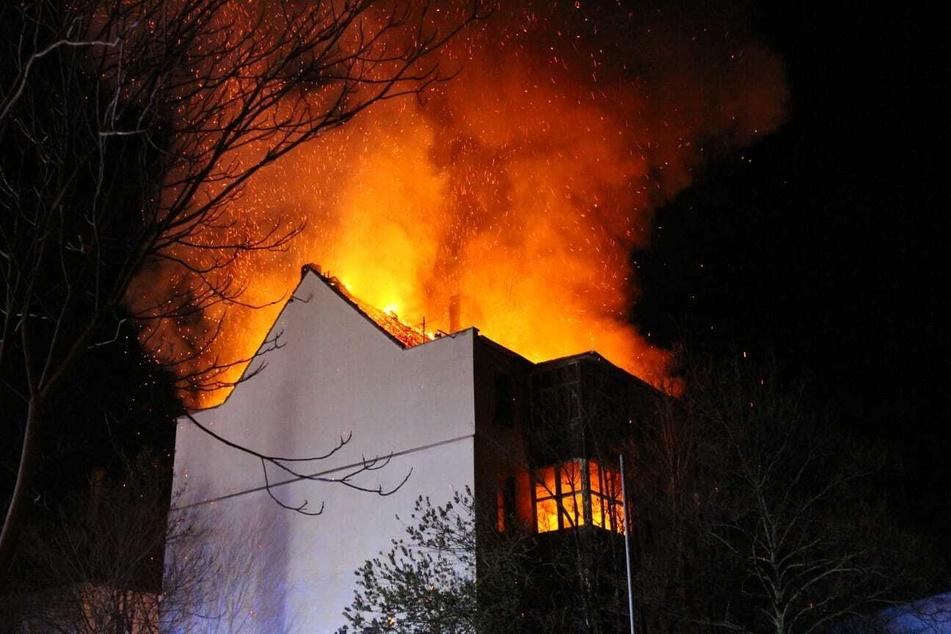 Zwei Männer hatten das Gebäude im Leipziger Osten angezündet.