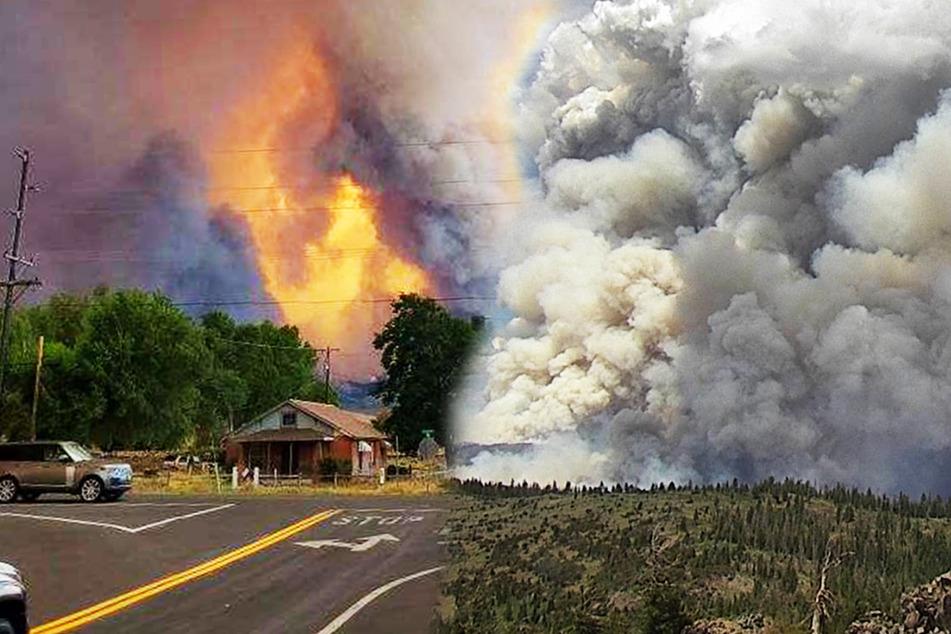 Riesiger Feuer-Tornado zieht durch die USA