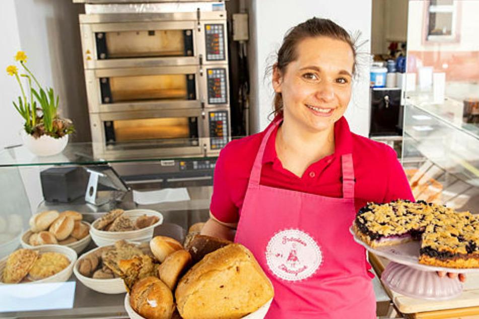 In Wermsdorf erfüllen sich Backträume: Fräulein Tortenglück hat immer eine süße Idee