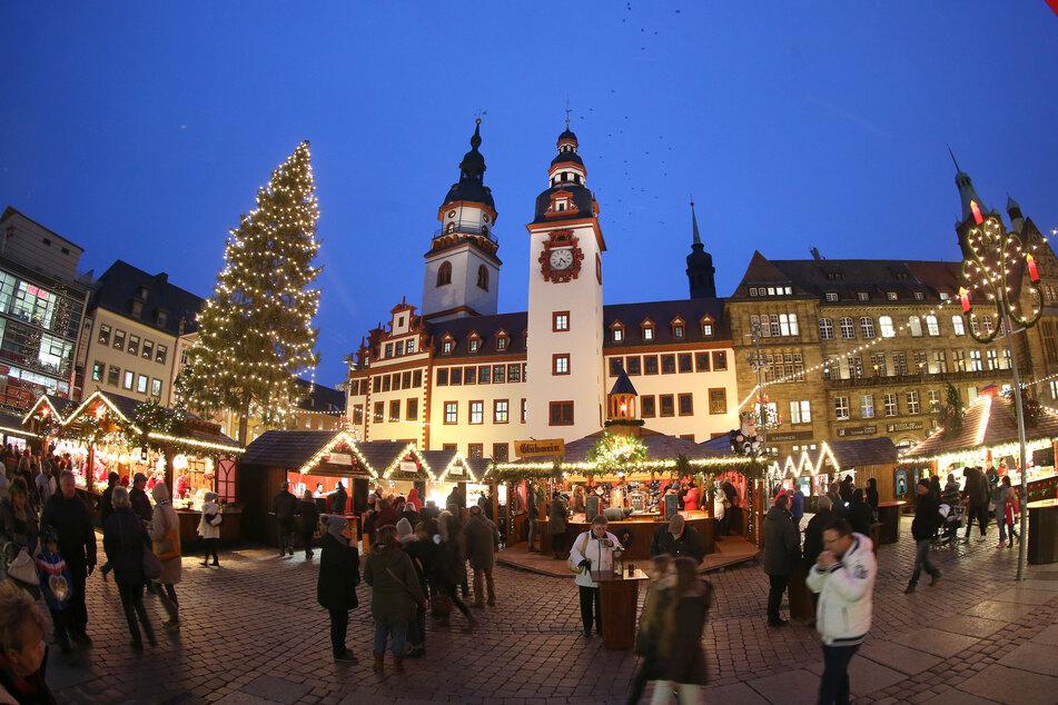 Die Stadt Chemnitz will nächste Woche eine Entscheidung treffen, ob der Weihnachtsmarkt stattfinden kann.