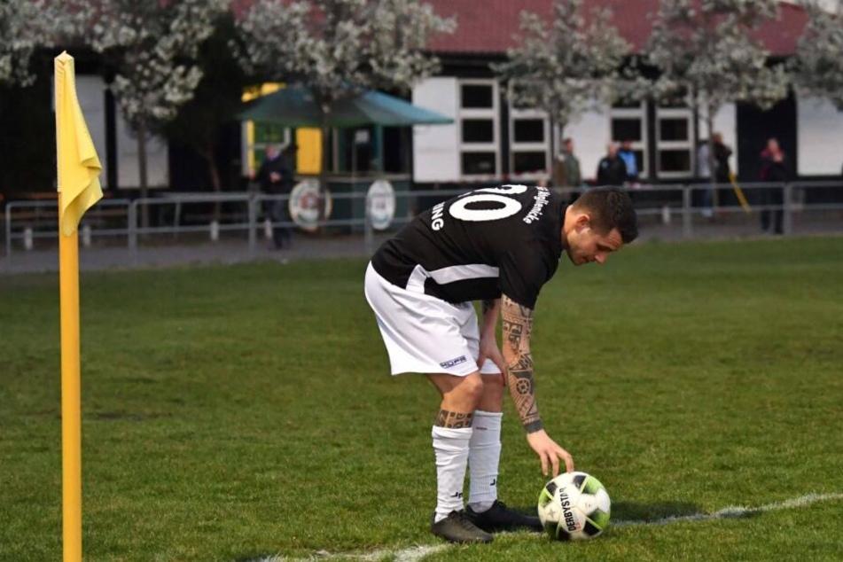 Ex-Unioner Christopher Quiring könnte bald in einem neuen Stadion Ecken treten.