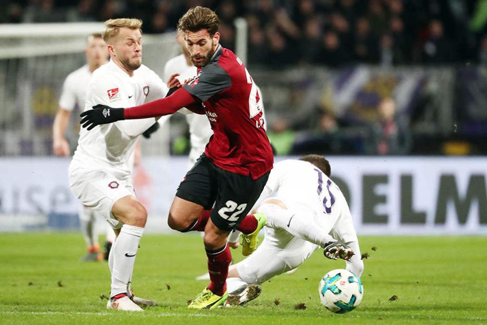Sie haben ja Zweigämpfe geführt und gewonnen - wie hier Pascal Köpke (r.) gegen Enrico Valentini. Aber die entscheidenden gingen verloren.