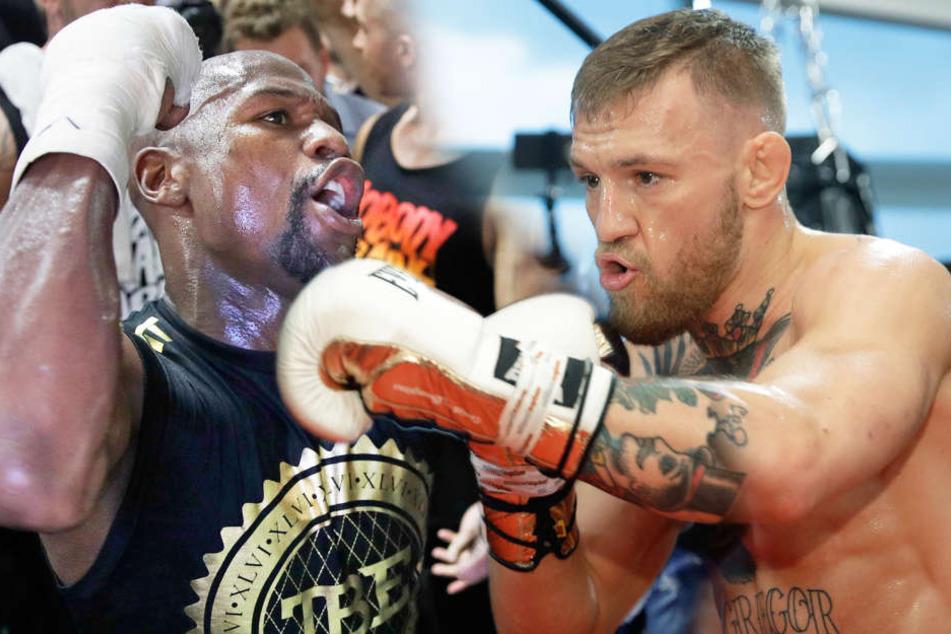 """McGregor vs. Mayweather: Das müsst Ihr zum """"Jahrhundert-Fight"""" wissen!"""