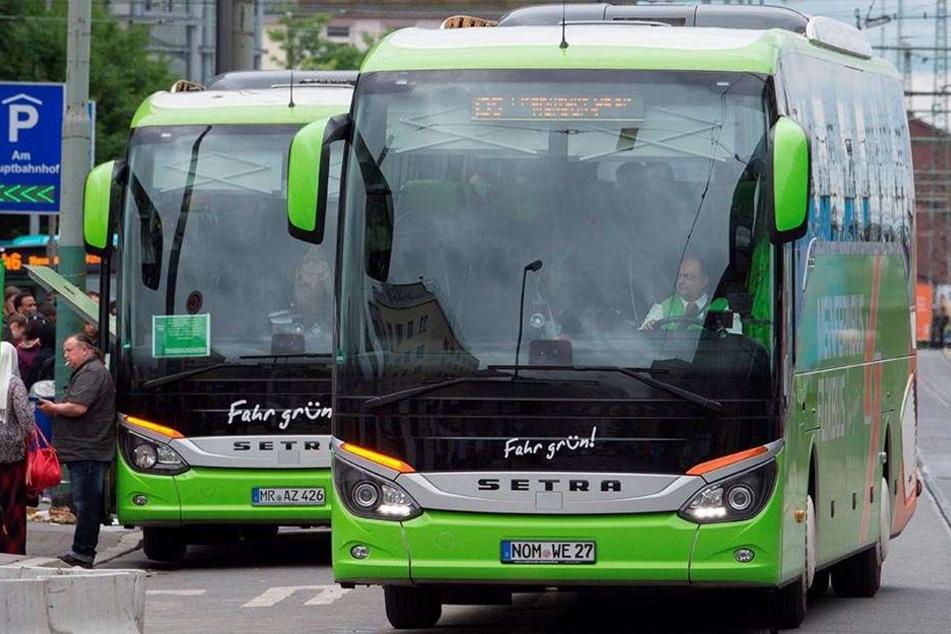 Das Unternehmen Flixbus hat jetzt eine Direktverbindung zwischen Dresden und Chemnitz eröffnet.