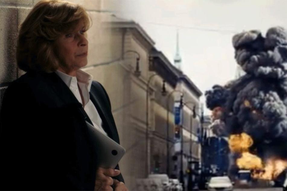 Senta Berger ist Kriminalrätin Eva Maria Prohacek und ermittelt nach einem Terroranschlag in München.