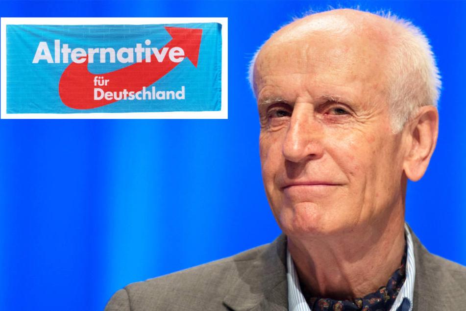 Der hessische AfD-Politiker Albrecht Glaser (Archivfoto) möchte Bundestagsvizepräsident werden.