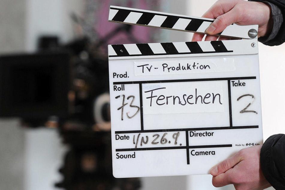 Klappe, die... Am 3. März könnt Ihr eine TV-Rolle ergattern! (Symbolbild)