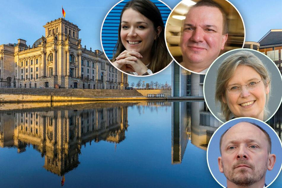 Wir wollen in den Bundestag! Diese Politiker treten für sächsische Wahlkreise an