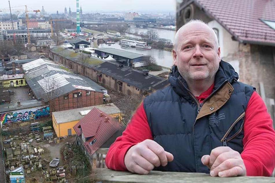 Dresdner Bildhauermeister wehrt sich gegen Hafencity-Projekt