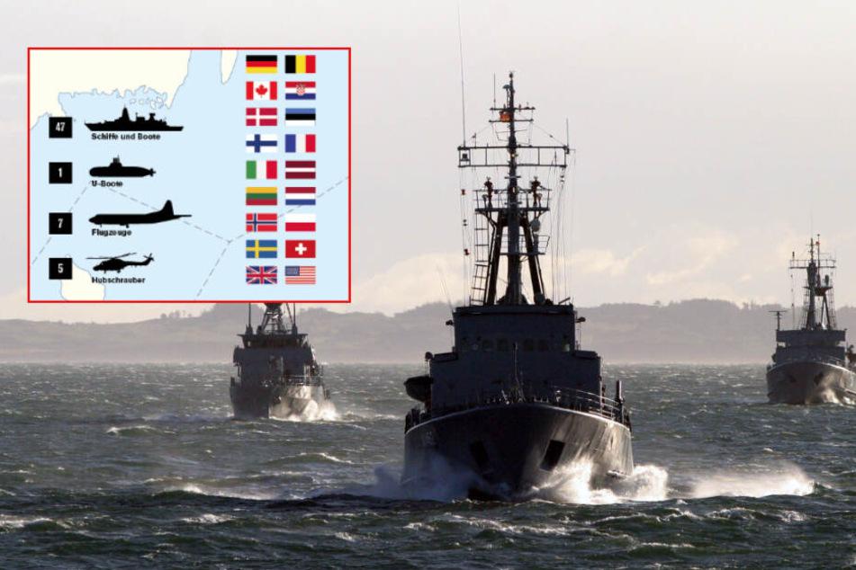 Nato-Übung: 3000 Soldaten in der Ostsee erwartet!