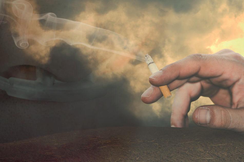 Die Nasensonde des Mannes soll Feuer gefangen haben (Symbolbild)
