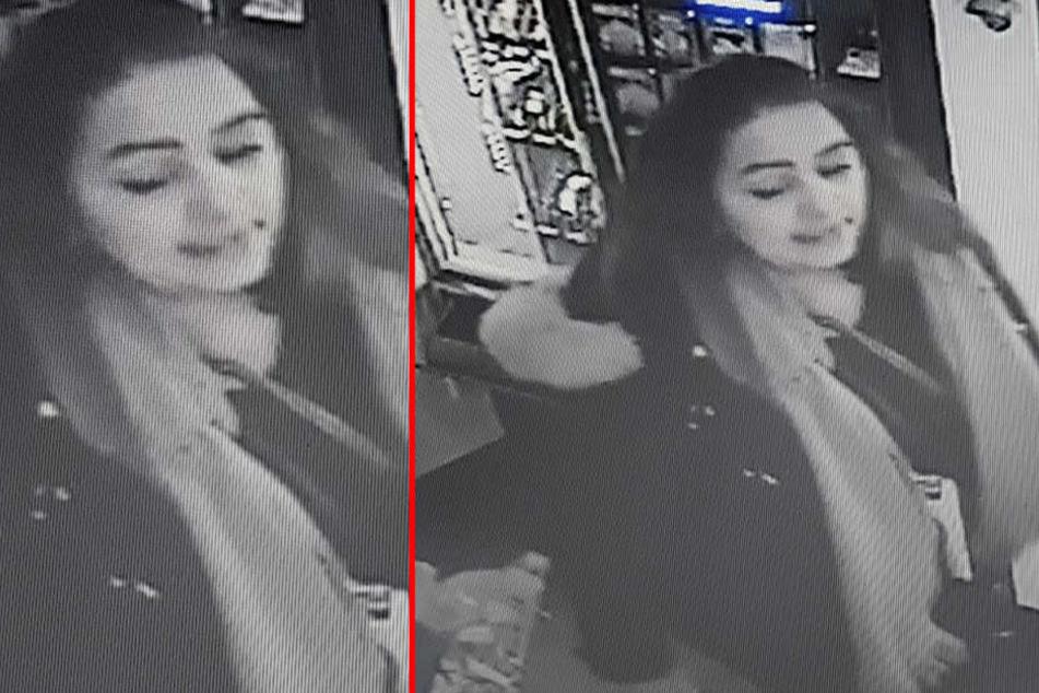 Diese Frau steht unter dringendem Tatverdacht, der Teil einer Einbrecherbande zu sein.