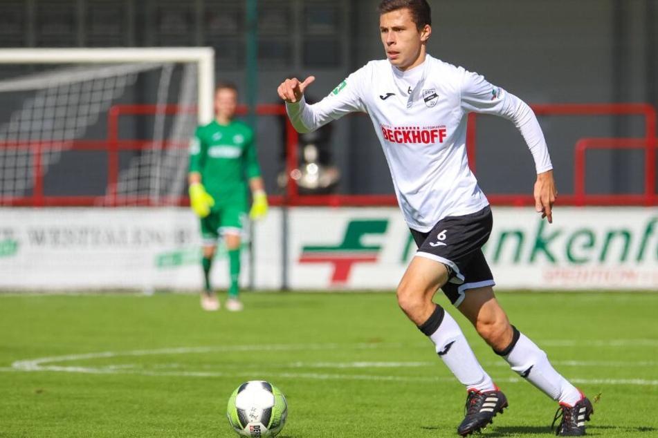 Mit starken Leistungen erspielte sich Ron Schallenberg eine Verlängerung beim SC Paderborn.