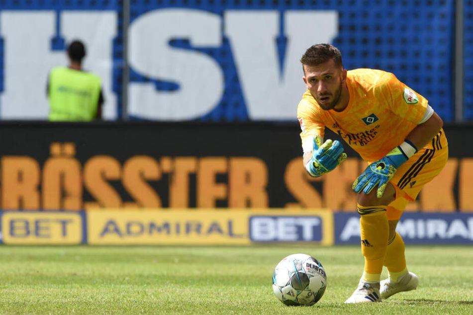 Neuzugang Daniel Heuer Fernandes hütet in der kommenden Saison des Tor des Hamburger SV.