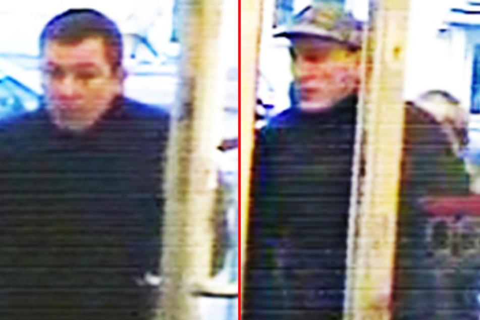 Diese zwei Männer sollen in Köln einen Juwelier überfallen haben. Einer wird nun im Raum Bielefeld vermutet.