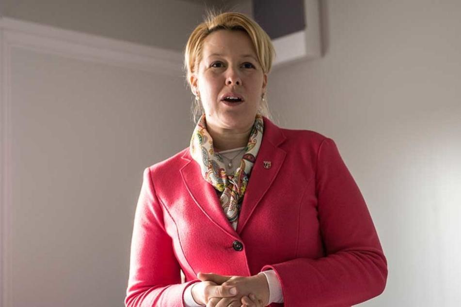 Neuköllns Bürgermeisterin Franziska Giffey (SPD, 39).
