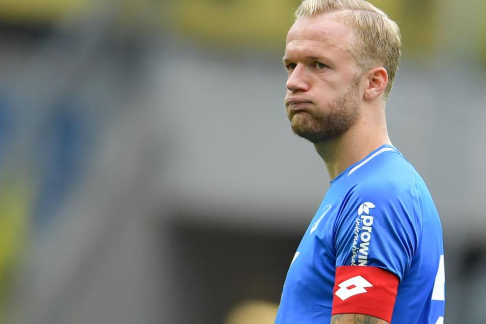 TSG-Hoffenheim-Kapitän Kevin Vogt (27) fällt in der Championsleague gegen Manchester City aus.