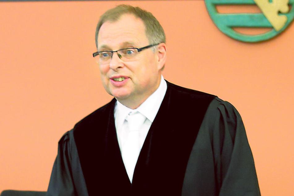 Seine Große Strafkammer muss sich mit dem unsäglichen Prozess beschäftigten: Richter Joachim Kubista (55).