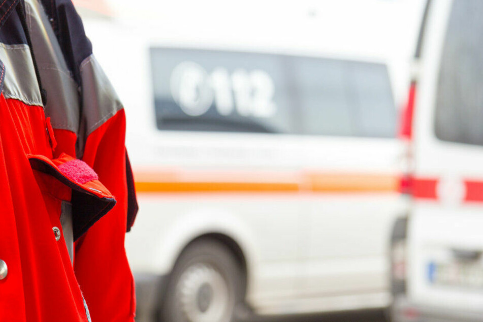Rettungskräfte waren schnell zur Stelle. (Symbolbild)