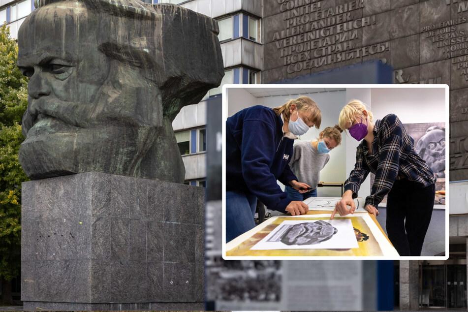 Chemnitz: Ein etwas anderer Unterricht in Chemnitz: Graffiti mit Köpfchen