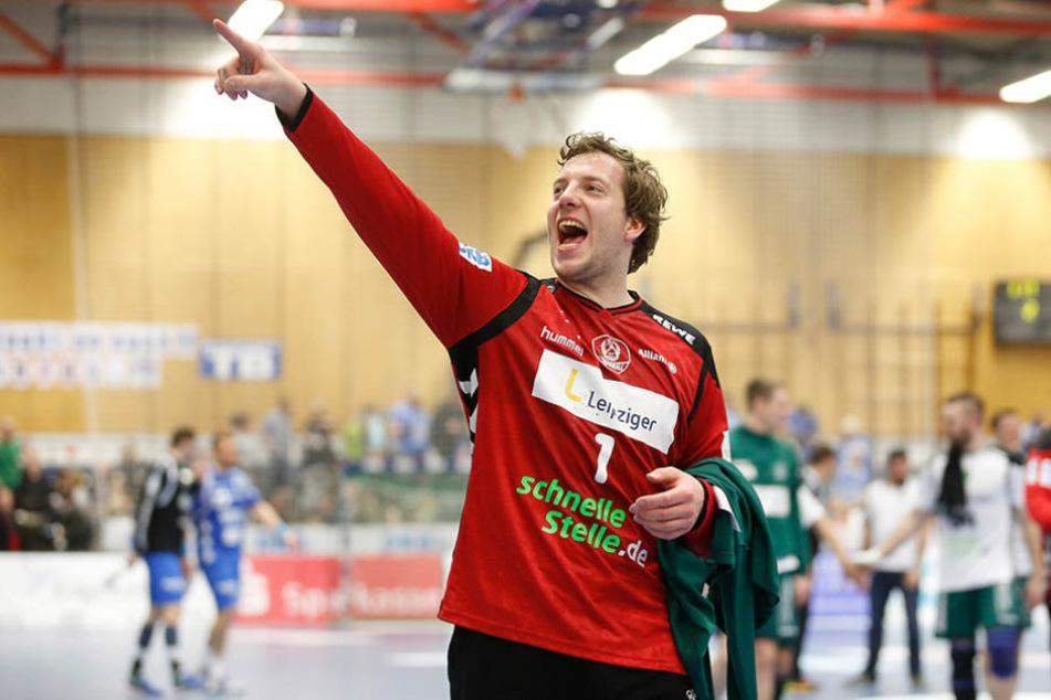 Hatte nach dem Arbeitssieg Grund zum Jubeln: Torwart Jens Vortmann.