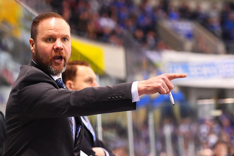 Eislöwen-Coach Bradley Gratton kennt Mario Lamoureux seit dessen Zeit in Dänemark.