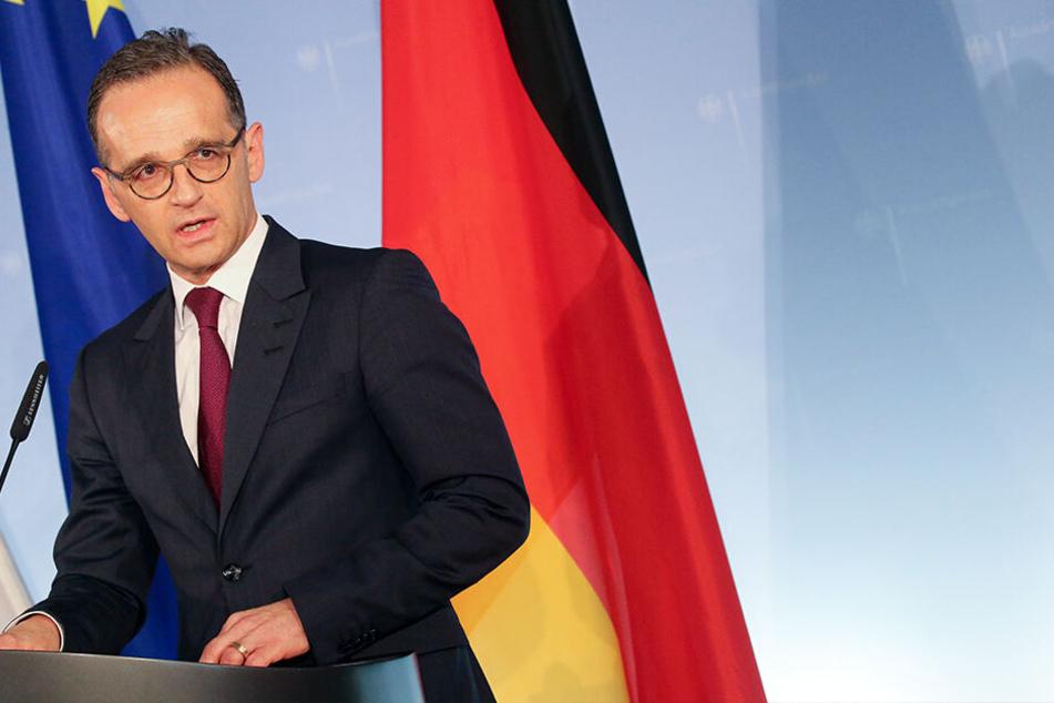 Außenminister Heiko Maas (SPD) kritisiert das Vorgehen der Türkei gegen deutsche Journalisten.