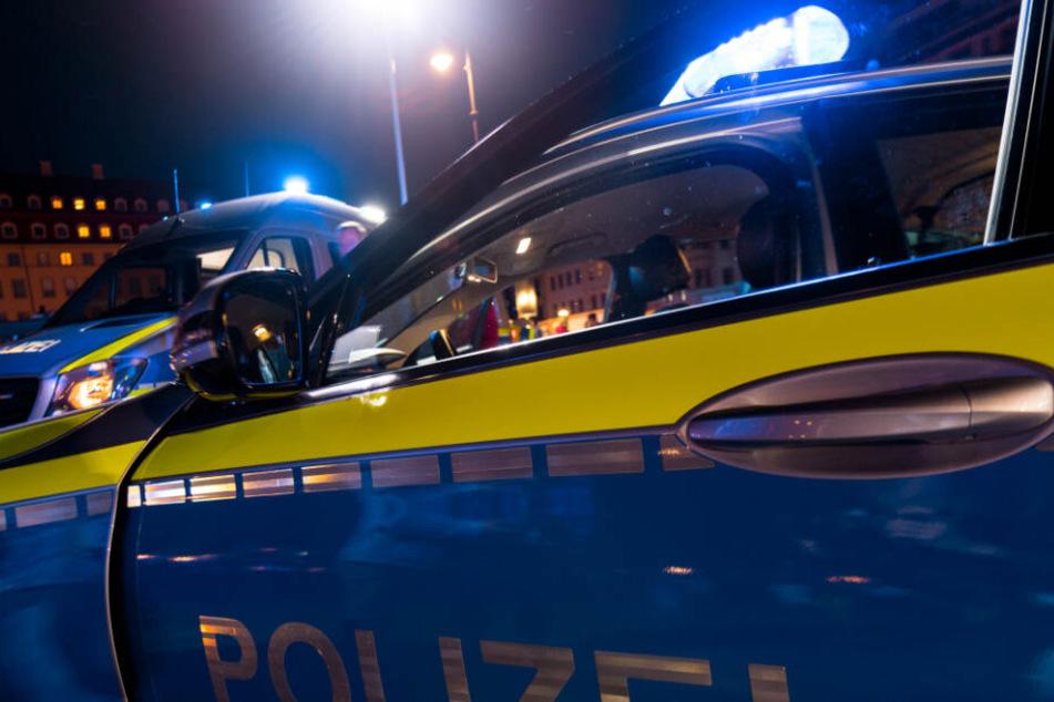 Wie die Polizei berichtete, spielte der Mann vor zwei Mädchen an seinem Penis. (SymbolbildI