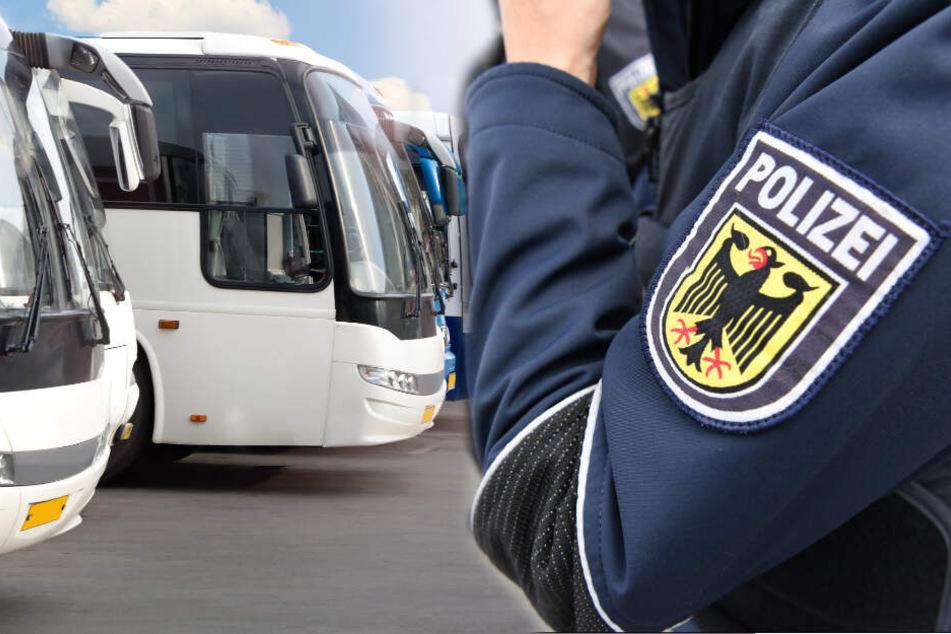 Bei Kontrolle an A72: Polizei schnappt Dieb in Fernbus
