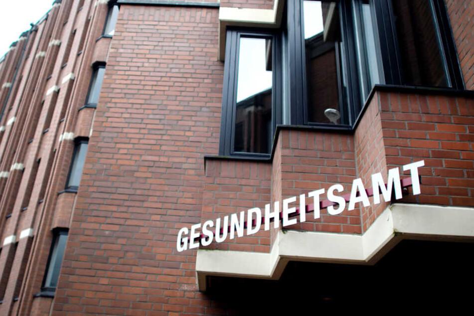 Das Gesundheitsamt in Heinsberg.