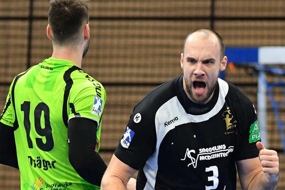 Patrik Hruscak hat den HC Elbflorenz in Richtung erste Liga verlassen.