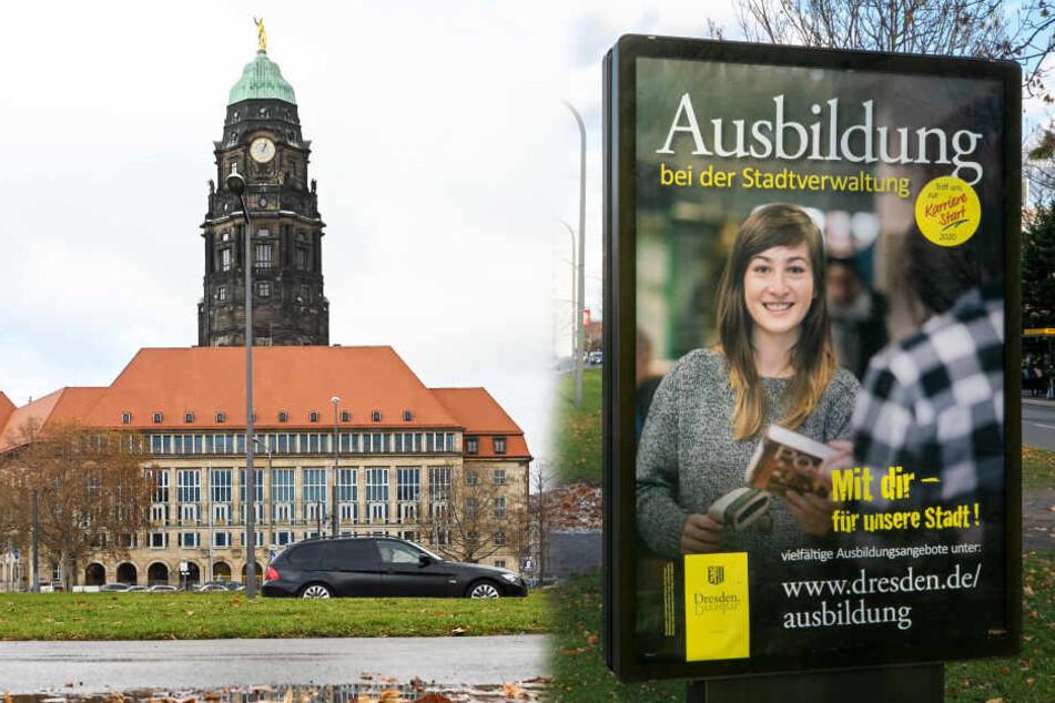Dresdner Rathaus buhlt um die Mitarbeiter von morgen