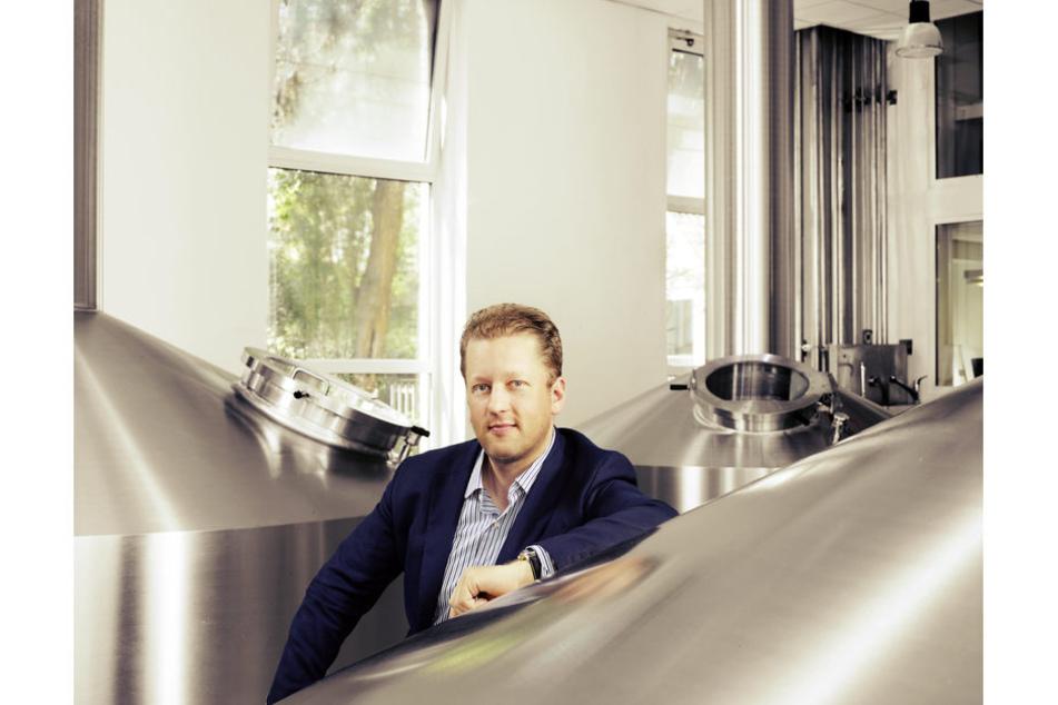 Xavier Vanneste, Inhaber der Brauerei De Halve MaanBrügge(Belgien).