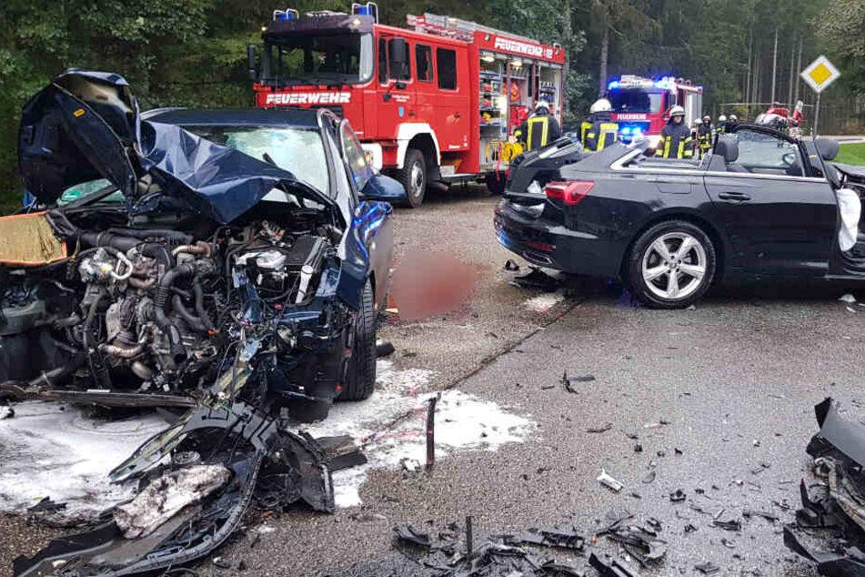 Heftiger Crash in Schluchsee: Mehrere Schwerverletzte