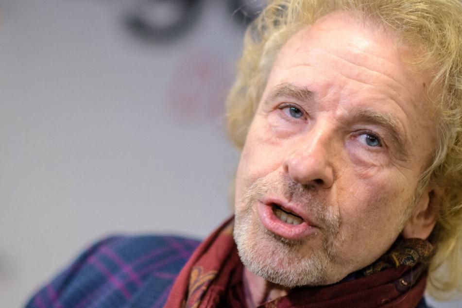 Für krebskranke Kinder: Thomas Gottschalk sammelt Hunderttausende Euro Spenden
