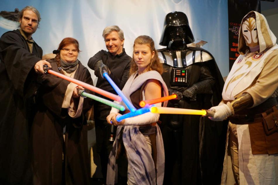 Star Wars Episode 8 feiert Premiere: Reutlinger Fan-Club wirft sich in Schale