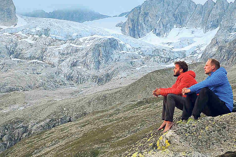 Vogtländer Berg-Jacke besteht sogar Kälte-Tests in den Alpen
