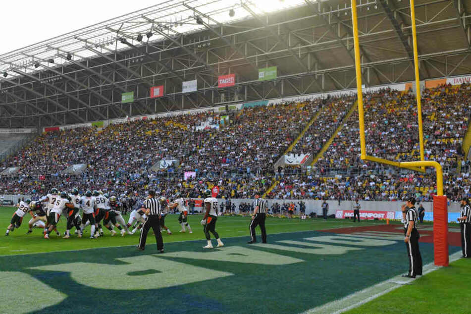 Die Kulisse im DDV-Stadion war grandios, auch wenn der Zuschauerrekord knapp verpasst wurde.