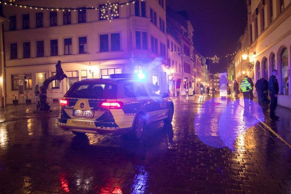 Der Tatort liegt unweit des Freiberger Weihnachtsmarktes.