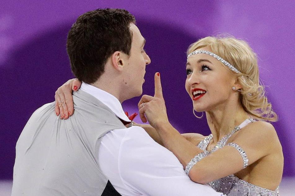 Aljona Savchenko und Bruno Massot sind Weltmeister!