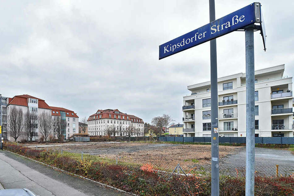 Die Garagen an der Kipsdorfer Straße sind längt platt gemacht.