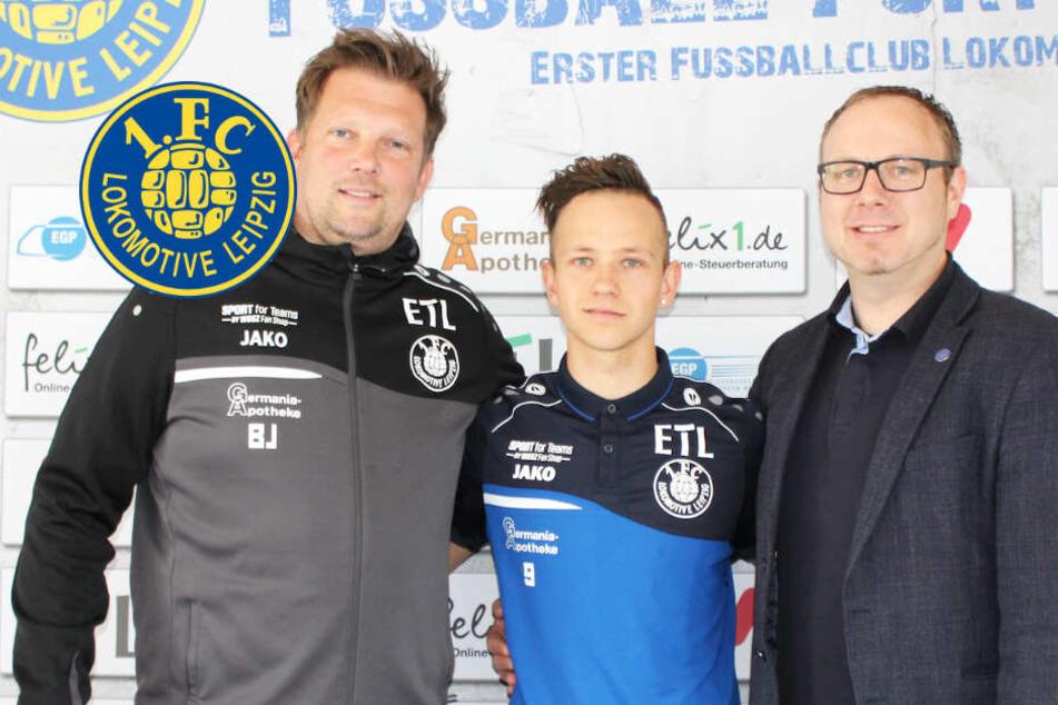 Blau-Gelb bis 2020: Lok Leipzig bindet Youngster Pommer