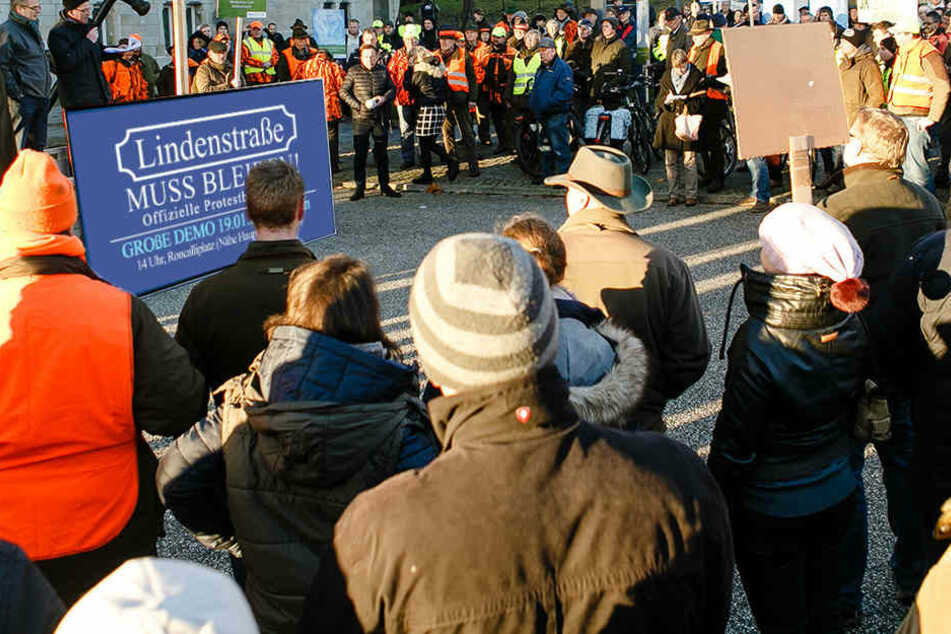 Auch in München soll demonstriert werden! (Bildmontage)