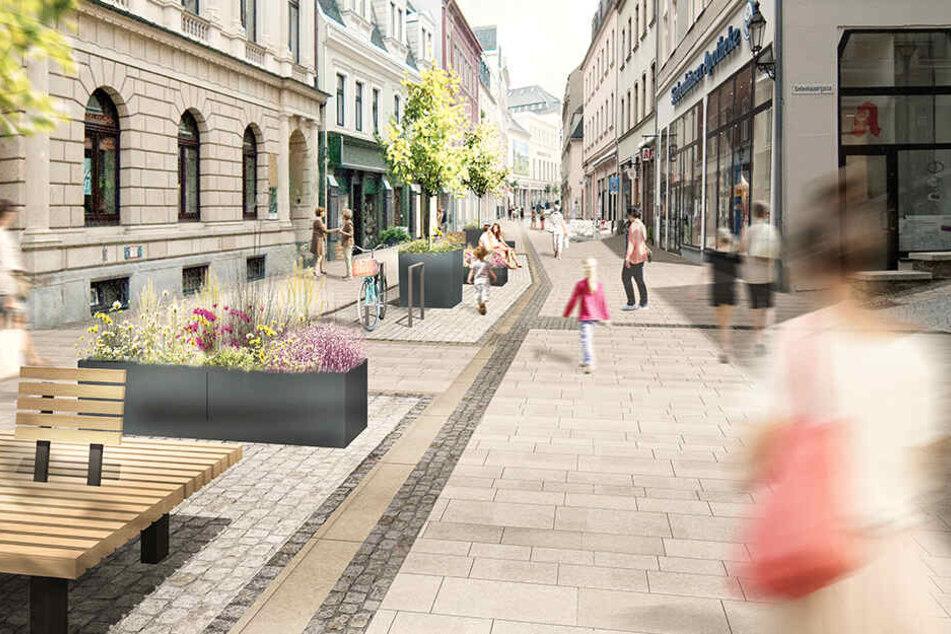 Zwei Jahre Bauzeit: Das verändert sich in der Annaberger Innenstadt