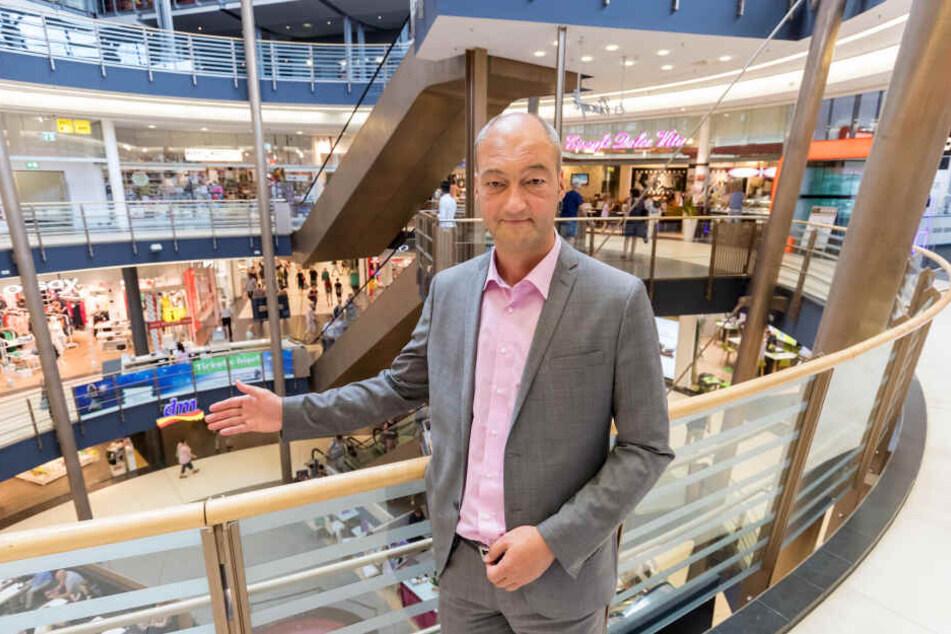 Freut sich über den Zuwachs: Centermanager Jörg Knöfel (51).
