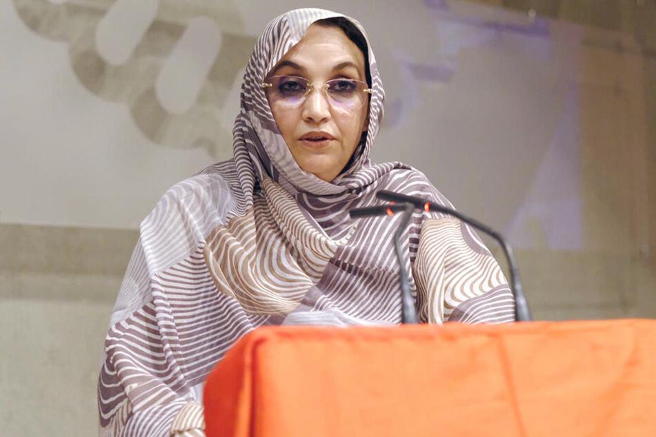 Die Menschenrechtsaktivistin Aminatu Haidar aus der Westsahara.