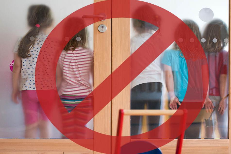 In einem Café in England sind Kinder unter zwölf Jahren nicht willkommen. (Bildmontage)