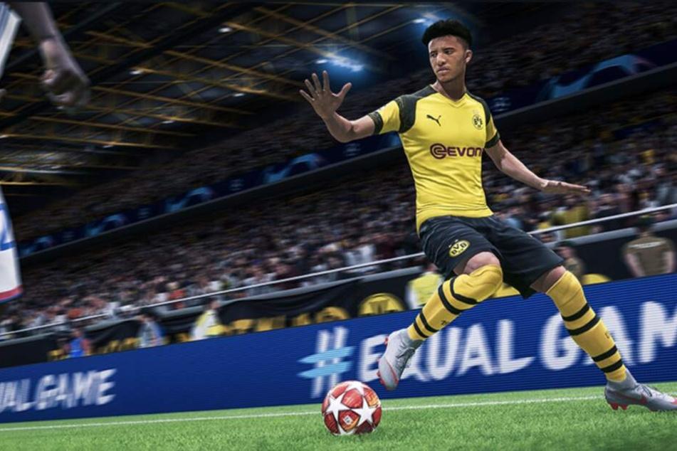 Mit Borussia Dortmunds Jadon Sancho könnt Ihr ab 27. September kicken.