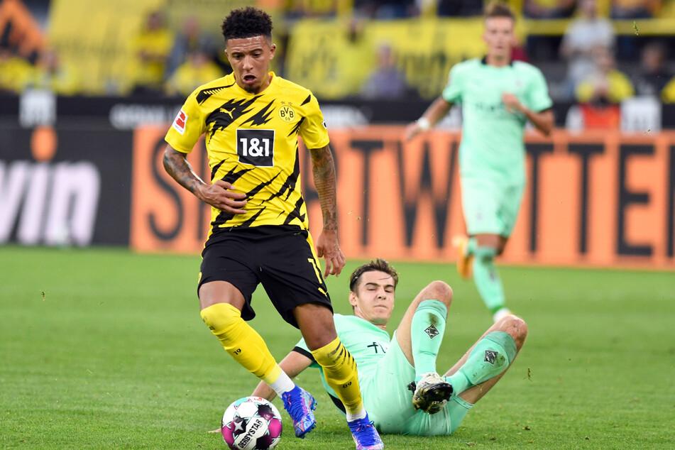 Spielte auch gegen Borussia Mönchengladbach einmal mehr wie entfesselt: Jadon Sancho (20).